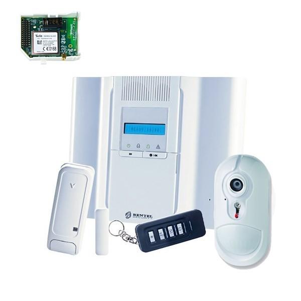Kit Allarme Antifurto Wireless via Radio Bentel Security BW64 combinatore GSM ...