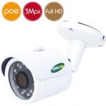 Telecamera IP DEMACAM PoE - 3 Megapixel / Full HD SONY - IR 25m