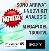 KIT Megapixel 1300TVL