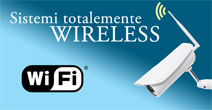 Videosoveglianza digitale ip senza fili Wireless