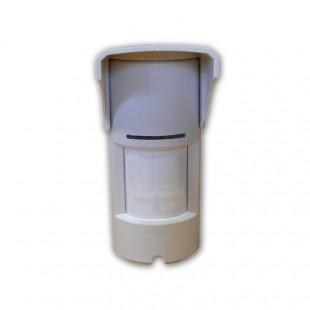 Infrarosso (PIR) a cavo, doppio sensore di movimento rettangolare