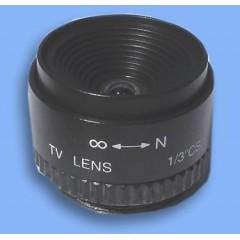 """Obiettivo con focale da 6mm 1/3"""" CS"""