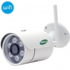 Telecamera dome IP 1 Megapixel HD (720P) - 3.6mm - IR 20m
