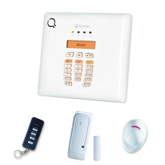 Kit Allarme Antifurto Wireless via Radio Bentel Security BW30 con Combinatore GSM