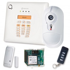 Wireless Security Alarm Kit by Radio Bentel Security BW30 GSM Combination