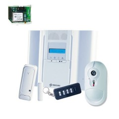 Kit Allarme Antifurto Wireless via Radio Bentel Security BW64 combinatore GSM