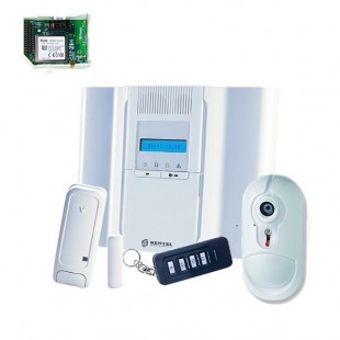 Wireless Security Alarm Kit by Radio Bentel Security BW64 GSM Combination