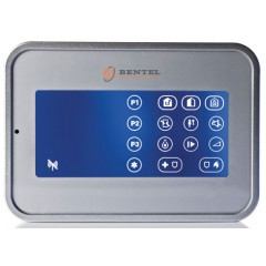 Tousch screen  via radio wireless Bentel Security