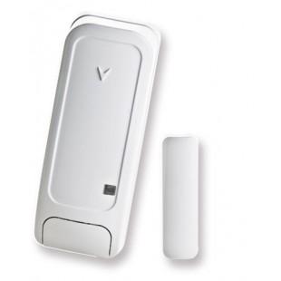 Magnetic contact via radio wireless Bentel Security - white