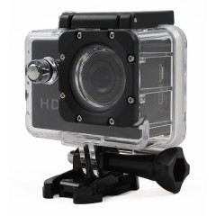 Sport camera HD 720p - 1 Megapixel - Black - Waterproof