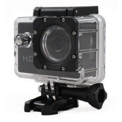 Telecamera sportiva HD 720p - 1 Megapixel - Nera - Waterproof