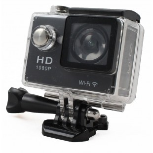 Sport camera Full HD 1080p - 2 Megapixel - Black - Waterproof