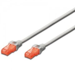 Patch network cable UTP CAT6 - 0,5m