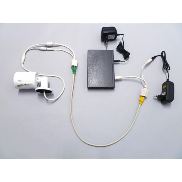 Schema Cablaggio Poe : Kit adattatore poe passivo per telecamere ip