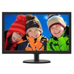 """Monitor per videosorveglianza LED 24"""" 16:9 - VGA HDMI"""