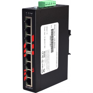 Industrial switch Gigabit 8 ports