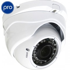 Telecamera AHD dome DEMACAM PRO - 960p / 720p SONY (1.4Mpx) - Zoom 2.8-12mm - IR 30m