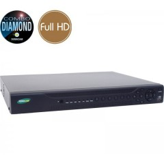 Videoregistratore AHD ibrido DIAMOND - DVR 16 Full HD - RAID - ALLARMI - HDMI Ultra HD 4K