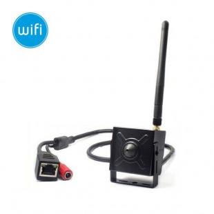 Microcamera wireless IP DEMACAM WiFi - HD (720p) - 3.7mm
