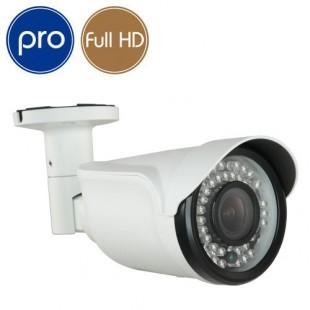 Telecamera AHD ZOOM PRO - Full HD - 1080p SONY - Ottica motorizzata 2.8-12mm - IR 35m