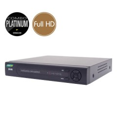 Videoregistratore AHD ibrido COMBO PLATINUM - DVR 16 canali Full HD - HDMI Ultra HD 4K