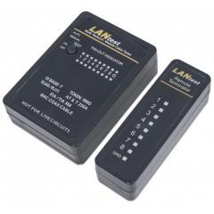 LED tester for connector RJ45 / BNC