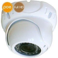 Telecamera dome IP DEMACAM PoE - Full HD (1080p) SONY - Zoom 2.8-12mm - IR 30m