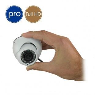 Telecamera HD minidome PRO - Full HD - 1080p SONY - 2 Megapixel - microfono - IR 8m