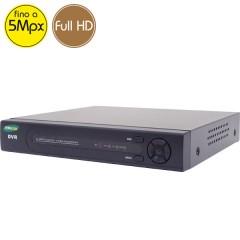 Videoregistratore AHD ibrido COMBO - DVR 8 canali 5 Megapixel - HDMI Ultra HD 4K