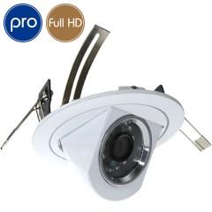 Telecamera a incasso AHD PRO - Full HD - 1080p Aptina - 2 Megapixel - IR 20m