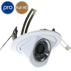 Telecamera a incasso HD PRO - Full HD - 1080p Aptina - IR 20m