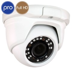 Telecamera HD dome PRO - Full HD - SONY Ultra Low Light - motorizzata 2.7-13.5mm - IR 30m