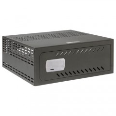 Cassaforte per DVR da 1,5 a 2U rack - Specifico per CCTV - serratura meccanica di sicurezza
