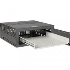 Vassoio estraibile per cassaforte Compatibile con RK02U984 - RK02U986 - Per DVR da 1,5 / 2 U rack