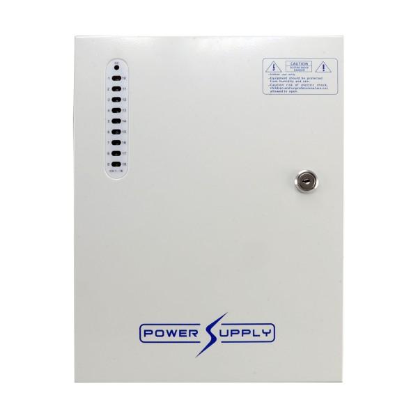 Output BOX to power 18 12V (220V) cameras - Max output 20Amp - UPS ...