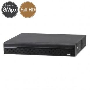Videoregistratore IP NVR 8 - 8 Megapixel / Full HD - ALLARMI RAID Ultra HD 4K