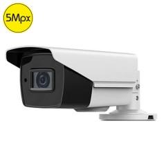 Telecamera HDTVI SAFIRE - 5 Megapixel - Ottica motorizzata 2.8-12mm - IR 40m