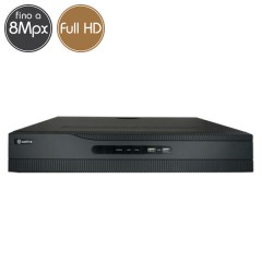 Videorecorder IP NVR SAFIRE 32 - 8 Megapixel / Full HD - Alarms RAID Ultra HD 4K