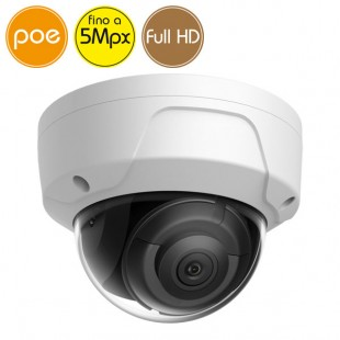 Dome camera IP SAFIRE PoE - 5 Megapixel / Full HD (1080p) - IR 30m