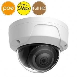 Dome camera IP SAFIRE PoE - 5 Megapixel / Full HD (1080p) - microSD - IR 30m