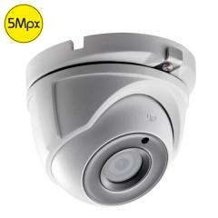 HDTVI dome camera SAFIRE - 5 Megapixel - IR 20m