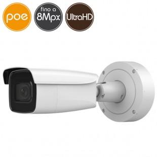 Telecamera IP SAFIRE PoE - 8 Megapixel Ultra HD 4K - motorizzata 2.8-12mm - IR 50m
