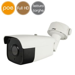 Telecamera Lettura Targhe IP SAFIRE PoE - Full HD (1080p) - Ottica motorizzata 2.8-12mm - SD - IR 30m