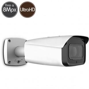 Telecamera HDCVI - 8 Megapixel Ultra HD 4K - Ottica motorizzata 3.7-11mm - IR 100m