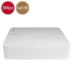 Videoregistratore AHD ibrido SAFIRE - DVR 8 canali 3 Megapixel 12fps - HDMI