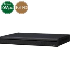 Videorecorder IP NVR 16 cameras - 6 Megapixel / Full HD - RAID HDMI