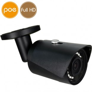 Camera IP PoE - Full HD (1080p) - Black - IR 30m