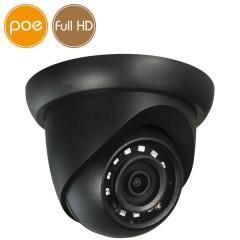 Camera dome IP PoE - Full HD (1080p) - Black - IR 30m