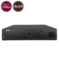 Videorecorder IP NVR SAFIRE 64 - 12 Megapixel / Full HD - Alarms RAID Ultra HD 4K