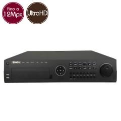 Videoregistratore IP NVR SAFIRE 64 - 12 Megapixel / Full HD - ALLARMI RAID Ultra HD 4K